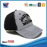 Embroidered 16*12 100% cotton 6 panel custom baseball cap