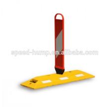 Fabricación de productos con divisores de carretera de caucho duradero SpringBack Panel