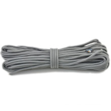 Hot!!! 2015 newest grey color 550 paracord supplier sales like hot cakes