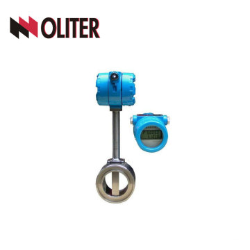 customized digital vortex flow meter for steam luqid measurement with display