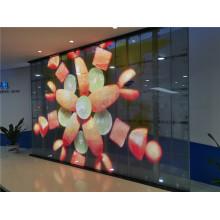 Прозрачный светодиодный экран, адаптированный для рынка США