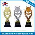 Star Shape Trophy Cup Silver Plated Trophy Awards