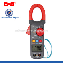 Pinza amperimétrica digital WH821 con prueba de CC / CA con prueba Crrent de 0.001A