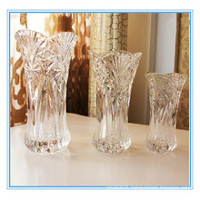 High Quality Decoration Crystal Clear Vase