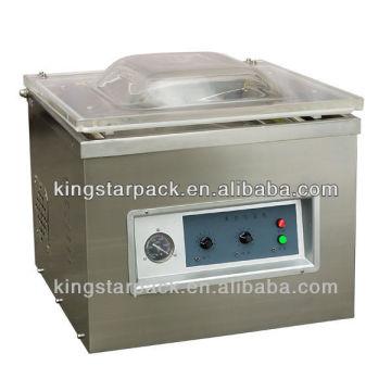 Автоматическая мини однокамерная вакуумная упаковочная машина для мяса DZ400