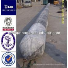 utilizado para la instalación del puente del pontón tubo durable de la nave del muelle de goma