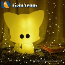 Lampe de nuit à l'intérieur conçu à piles rechargeable LED nuit lumière décoration enfants lampes chambre à coucher