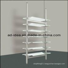 Heavy Duty Chrome Shoe Rack with 8 Adjustable Shelves (GARMENT-1127)