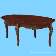 luxury carved wooden living room center table design made in Vietnam