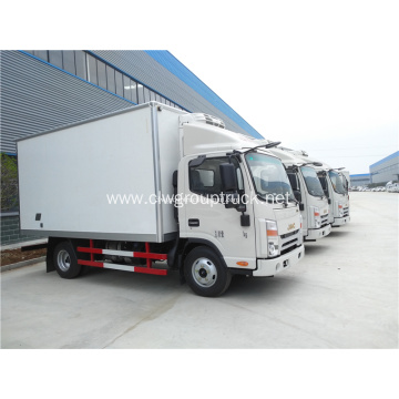 4x2 mini refrigerated van truck for sale