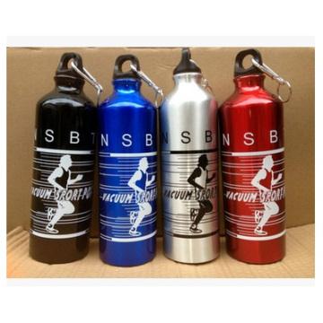 Botella de aluminio al aire libre de los deportes, botella corriente del aluminio de la botella del deporte de la bicicleta corriente