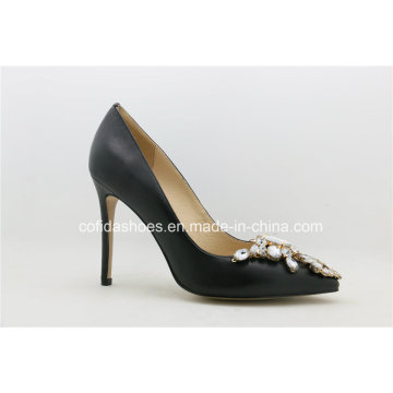 Sexy High Heels Leather Lady Bridal Shoe