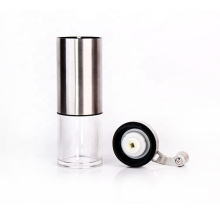 stainless steel coffee grinder plastic containers