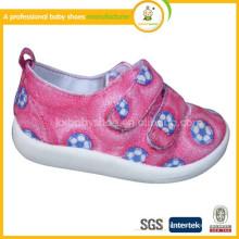 Vente en gros 2015 hot sale canvas injection enfants chaussures bon marché chaussures pour bébés décontractés
