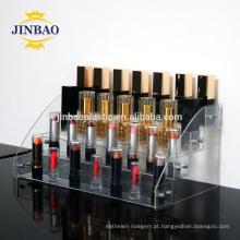 Caixa acrílica do suporte do suporte de exposição do presente do corte do laser de Jinbao para a decoração da exposição