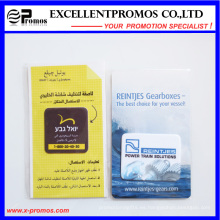 Popular adhesivo de Microfiber pegajosa pantalla limpiador para iPhone (EP-C7192)