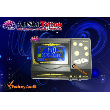 ADShi Integrated Variable Voltage Tattoo Power Supply High Quality Electronic Components Inside,your logo printable.