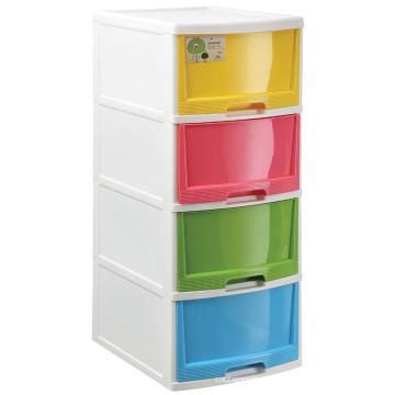 2015 Дешевые горячей продажи последней большой пластиковый шкаф хранения с 4 ящиками