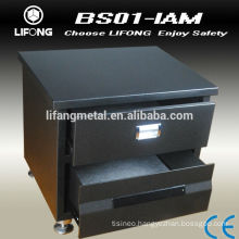 2014 New design antique bedstand safe box