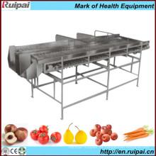 Máquina clasificadora de frutas y verduras con CE