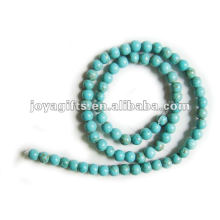 6MM loose Turquoise stone round Beads