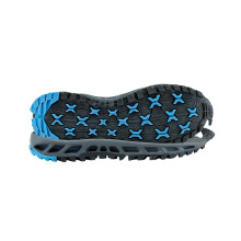 Freizeit Dämpfung Sole Wear-Resisting Rutschfeste Outdoor Schuhsohlen