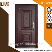 Fabricación de puerta de acero contra incendios de alta calidad con el certificado de