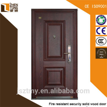 Fabricação de porta de aço antifogo de alta qualidade com certificado