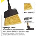 Wholesale Heavy Duty Cleaning Floor Soft Broom Long Handle Push Plastic Home Broom