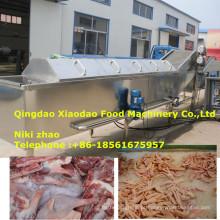 Alimento de mar congelado industrial / equipamento congelado da descongelação da carne