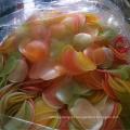Bolacha de camarão colorido / Cracker de camarão alto molho de camarão