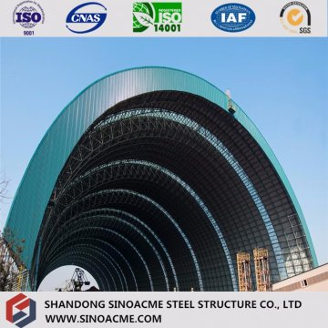 Arc Shape Quality Structural Aircraft Hangar with PU Panel