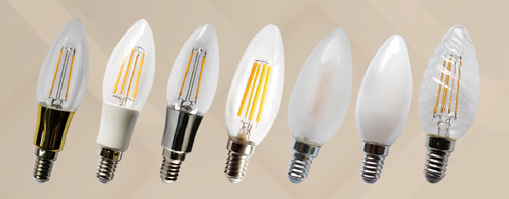 LED Filament Lamp C35 2W