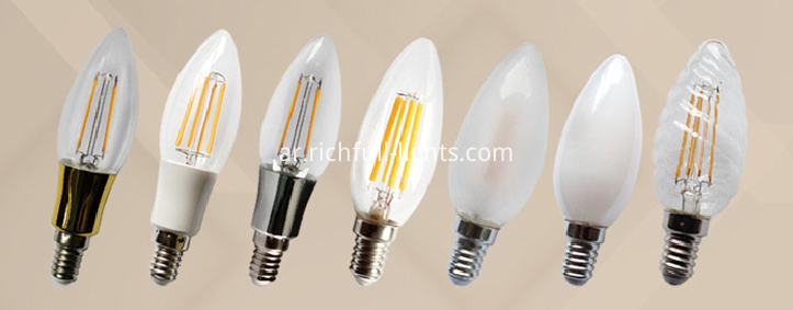 C35 4w led filament lamp