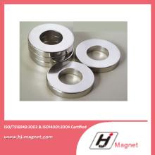Promotion de vente chaude Super anneau de NdFeB aimant N35m avec le procédé de fabrication de haute qualité