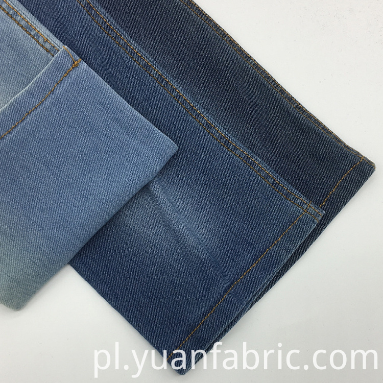 Tc Knitted Denim Peach Twill Cotton Fabric 2