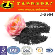 Materiais abrasivos, pó de óxido de alumina fundido preto para moagem