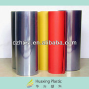 PVC clear plastic rolls made in China