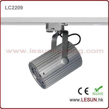 9 * 1W 9 * 3W Chemin de roulement argent LED Track Track (LC2209)