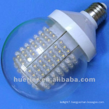 2014 alibaba best seller 100-240V 220v 110v 24v 12v b22 e26 e27 10w clear or frosted cover big round light bulbs