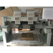 2 Head Commercial Embroidery Machine Garments T-Shirt Embroidery Machine