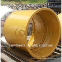 Enorme borde de rueda OTR (tamaño de la rueda de 8 pulgadas a 63 pulgadas)