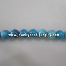 new sky blue ball shape fresh water shell