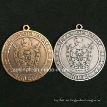 Medalla de moneda de desafío antiguo por encargo