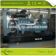 Hot! Deutschland motor D2866LE203 400kva Man motor generator mit hoher leistung