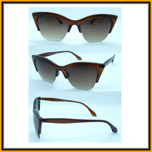 F15138 New Design Half Frame Fancy Women Sun Glasses Meet CE FDA UV400 (F15138)