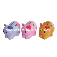 Poly Resin Cat Money Bank