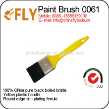 china manufacturer economical yellow plastic paint brush