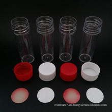 Taza de muestras de orina con diferentes tamaños