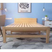 La última cama de madera del fabricante diseña las hojas de cama plegables únicas